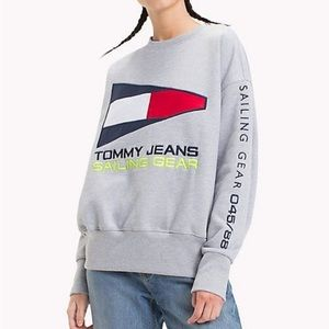 Tommy Jeans sailing gear sweater size small